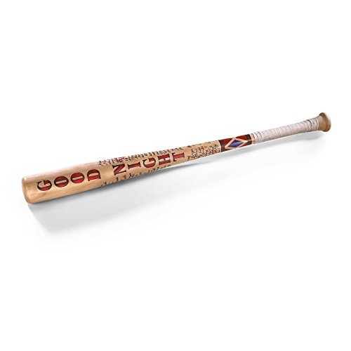 #Harley Quinn Suicide Squad Baseballschläger Filmreplik Holz 80 cm#