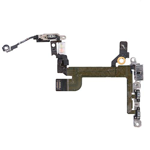 AFfeco Volume Power Switch On Off Key Repair Assembly Flex Cable (for iPhone 5SE) Cell Assembly