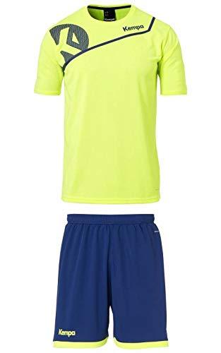 Kempa Core 2.0 Training Set Trikot und Short Handball Neongelb Kinder Neongelb, 140