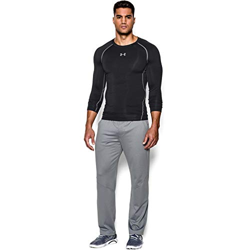 Under Armour Herren HeatGear Armour Unterhemd, Schwarz, Gr. -