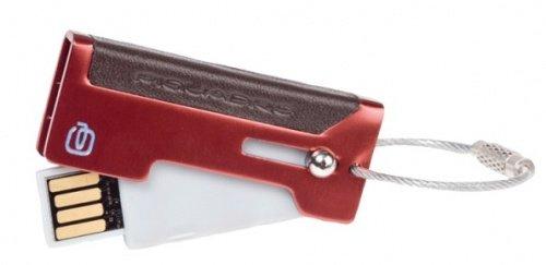 Piquadro portachiave usb vibe pc2756vi disegno italiano