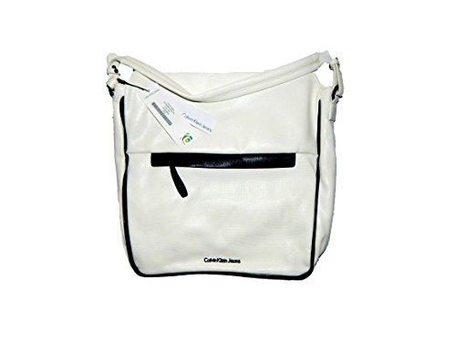 Calvin Klein Jeans Clea Hobo poche blanc