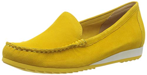 CAPRICE Damen Inoxy Mokassin, Gelb (Yellow Suede 641), 40 EU