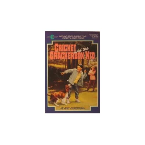 Cricket and the Crackerbox Kid by Alane Ferguson (1992-06-01)