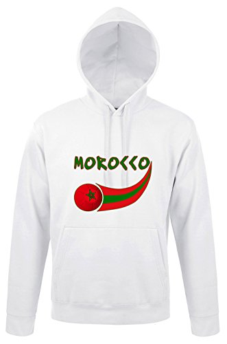 Supportershop-Marruecos-Sudadera Capucha Hombre