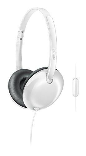 Philips SHL 4405WT/00 Headphones with Mic (White)