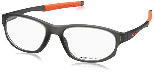 Oakley Herren 0OX8048 Brillengestelle, Schwarz (Satin Grey Smoke), 56