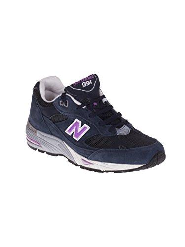 Camurça Novo Equilíbrio Unisex Sneaker Azul Em M991smn 64qxPC
