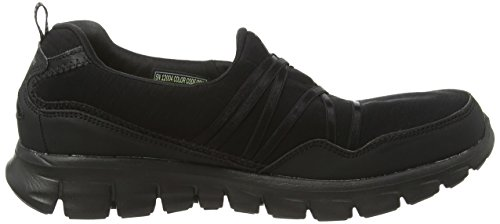 Skechers Synergy Scene Stealer, Low-Top Sneaker donna Nero (BBK)