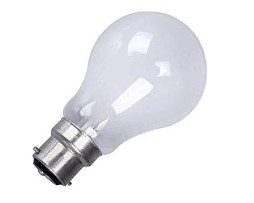 10 X 100WATT BC PEARL STANDARD LIGHT BULB NEW BULBS