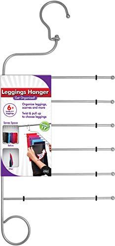 Kleidung Storage Schrank (JOKARI Hosenbügel für Leggins und Yoga-Hosen - platzsparender Kleiderschrank Organizer für Kleidung, Hängeschrank Organizer & Legging Swing Hanger Rack, Storage Rack für Beste Schrank-Organisation)