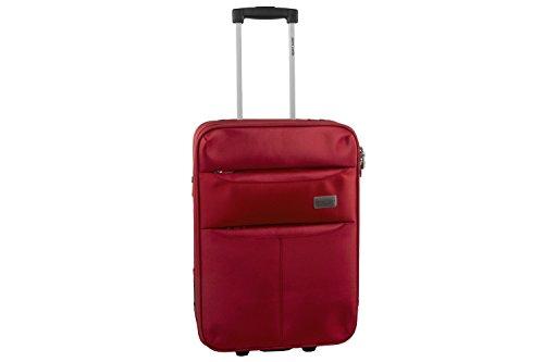 Maleta semirrígida PIERRE CARDIN rojo mini equipaje de mano ryanair S273