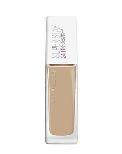 38d056bf7 Maybelline Base de Maquillaje Superstay 24H (Larga duración), Tono 21 Nude  Beige