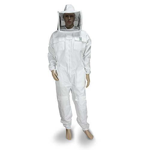 Beekeeping complete Mask Quadra Tracksuit White XL Bianco Test
