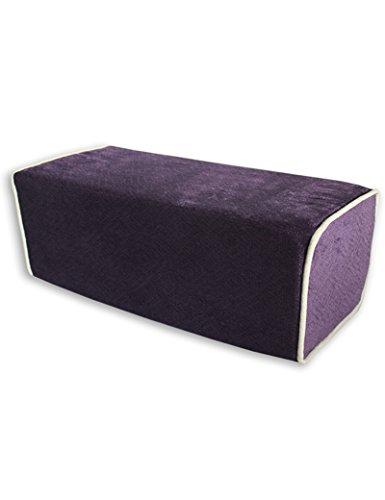 GJM Shop U Coussin en coton multifonctionnel --- Lohan bed Tapis en mousseline en bois massif Tapis à oreiller long Coussin d'oreiller, 16X45 cm --- Protection - couverture de coussin pliable de ( Couleur : 1 )