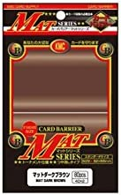 Matte Brown, Dark Standard Card Sleeves 80ct. by KMC KMC KMC Sleeves | Au Premier Rang Parmi Les Produits Similaires