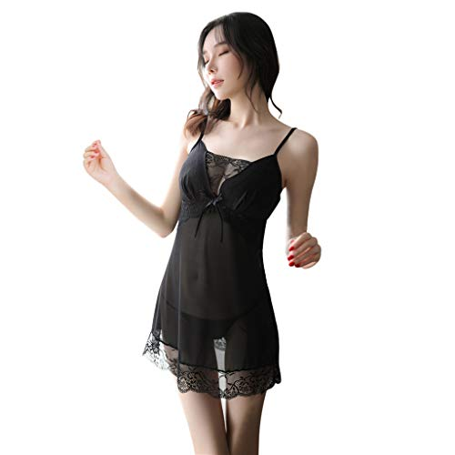 ad2242176b24 Feytuo Women's Sexy Nightdress,2019 Prime Day Sale Summer Mesh Lingerie  Silk Soft Comfort Sleepwear