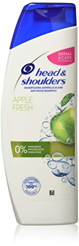 Head and Shoulders Apple Fresh Anti-Schuppen Shampoo, 280 ml, 3 Stück -