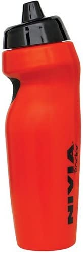 Nivia Radar Sports Bottle, 600ml (Red)