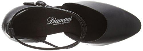 Diamant - Diamant Damen Tanzschuhe 058-080-034, Scarpe Da Ballo - Standard & Latino da donna Nero (Nero (nero))