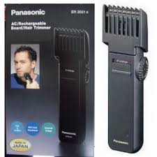 Brand New Panasonic Er-2031 A/C Rechargeable Beard & Hair Trimmer- Black