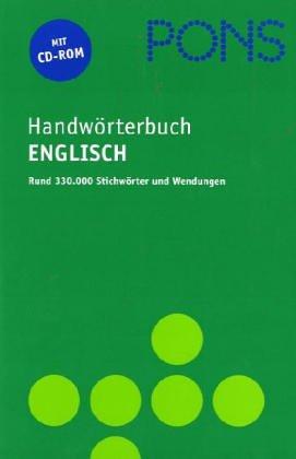 PONS Handwörterbuch für die berufliche Praxis, Englisch-Deutsch, Deutsch-Englisch, m. CD-ROM