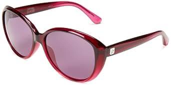 Converse Women's B001 Butterfly Sunglasses, Pink Gradient