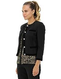 Amazon.it  KOCCA - Nero   Giacche e cappotti   Donna  Abbigliamento 3fd2aa5c6d9