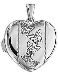 Pendentif cassolette Ovale en argent 1001 Bijoux