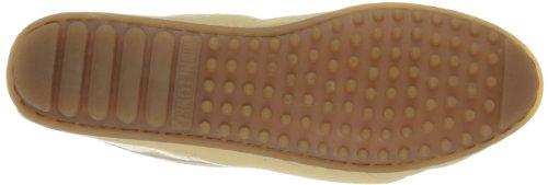 Minnetonka Women's Deerskin Soft-T Moccasin,Champagne Deerskin,5.5 M US Champagne Deerskin