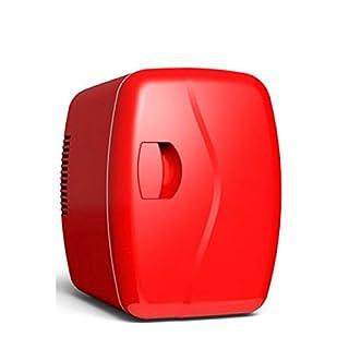 JGWJJ Mini tragbarer kompakter persönlicher Kühlschrank kühlt und heizt 5 Liter Volumen, kühlt 6 12 Unzen Dosen, 100% freonfrei und umweltfreundlich, inklusive Stecker für die Steckdose und 12 V Autol