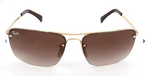 Ray-Ban Herren Mod. 3607 Sonnenbrille, Gold, 61