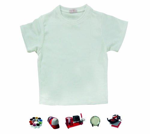Preisvergleich Produktbild 5große Erwachsene Größe farbsumblimationsprozesses weiß bedruckbar 100% Polyester T-Shirts