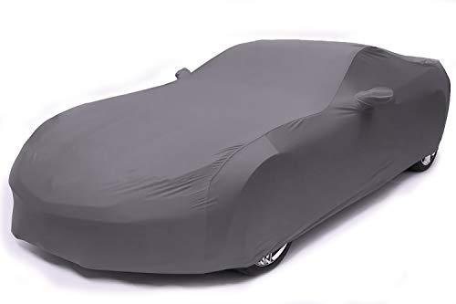 XMAO Maßgeschneiderte Autoabdeckung mit elastischer Kraft Geeignet for Peugeot 107 Hatchback,Das elastische Material ist leicht zu zerlegen. (Color : Dark Gray, Size : 2005-2008)