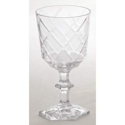Baci So schickes Wein-Glas, Acryl, transparant, 9 x 9 x 17 cm