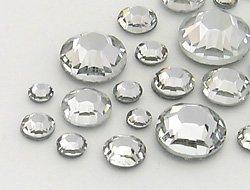 Gogoritas Strasssteine Hotfix von Star Bright (Crystal Multi Size Mix, Restposten), 400 Stück