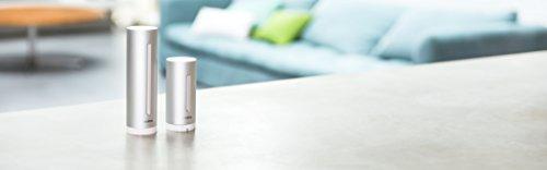 31NQOjxsFoL [Bon Plan Netatmo] Netatmo Station Météo Intérieur Extérieur Connectée Wifi pour Smartphone - Capteur Sans fil - Thermomètre, Hygromètre, Baromètre, Sonomètre, Qualité de l'air - Compatible avec Amazon Alexa