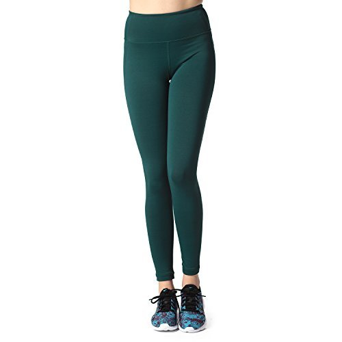 f3ef7e96561e08 Lapasa Women s Sport Leggings – HIGH WAIST - Yoga Pants - Running Tights -  Gym   Workout – With Hidden Pocket- Plus Size   Squat proof type Available  - L01 ...