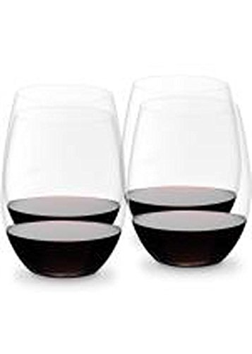 Riedel 7414/50 Crystal O Wine Tumbler Cabernet/Merlot and Viognier/Chardonnay Glass, Set of 4 by Riedel -
