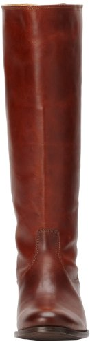 FRYE Women's Melissa Button Back-Zip Boot, Cognac Smooth Vintage Leather, 10 M US Cognac Smooth Vintage Leather-76431