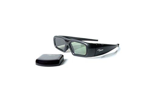 Optoma ZF2300 - Gafas 3D (inalámbrico, 60 h), color negro