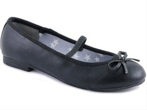 Indigo  422209000/009, Ballerines pour fille - 009BLACK