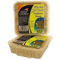 Dawn Chorus Energieblock für Vögel, mit geschälten Sonnenblumenkernen, 12Stück - Food Dawn Products