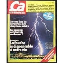 ca m'interesse n° 6 d'aout 1981 - saturne livre les derniers secrets du systeme solaire (magazine)