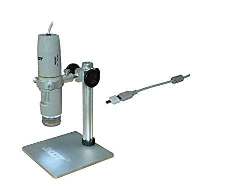 BANGWEIER Portable USB and OTG Polarizing Digital Microscope 1X ~ 500X Magnification for Education or Studio HD Camera with Software and
