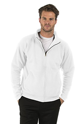 Bruntwood Classico Felpa Con Cerniera Completa Giacca Classic Full Zip Sweat Jacket Uomo & Donna 280GSM Cotone/Poliestere