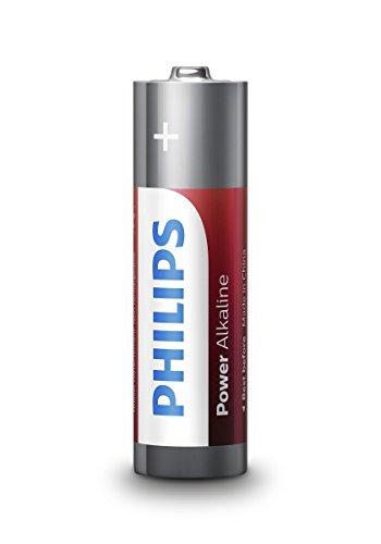 Philips Piles alkalinas AA LR6 blister4
