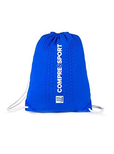 Compressport Endless Backpack Rucksack Beutel Sport Training Wettkampf Bag Tasche (blue) blue