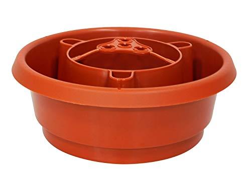 UPP Bewässerungsringe Aquaringe   Bewässerungsystem mit Schneckenschutz undVerbinder für Rankhilfe   Gartenhelfer für Tomaten, Paprika, Bohnen [8 STK.]