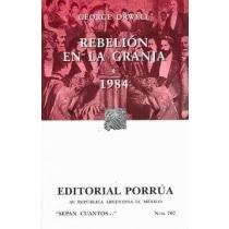 Rebelion en la granja/Animal Farm (Sepan Cuantos/Know How Many) por George Orwell